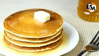 Панкейки рецепт | Как приготовить панкейки на молоке -- Голодный Мужчина, Выпуск 64