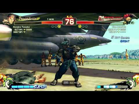 Kenjiro [Ryu] Vs The Agonistt [Akuma] - Endless Battle