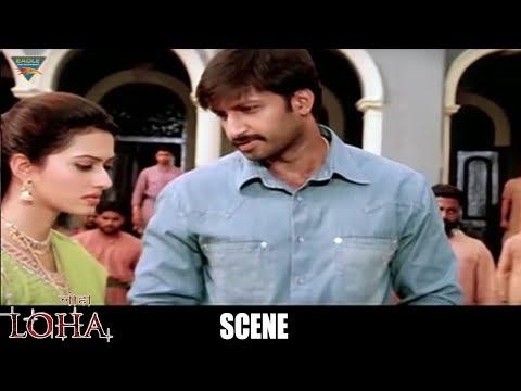 Loha The Iron Man Hindi Dubbed Movie Scenes - Gopi Chand Stunning Action Scene Infront Gowri Pandit