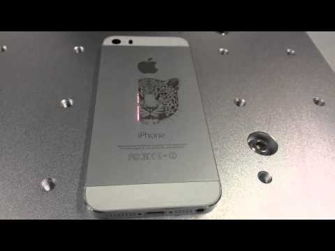 Laser Marking & Engraving Machine For Iphone & Anodized Aluminum