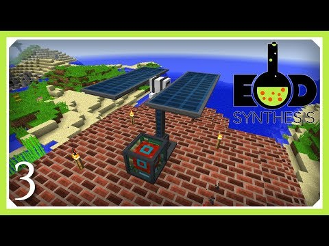 EOD Synthesis Modpack | Mekanism Advanced Solar Generator | E03 (Modded Minecraft 1.12)