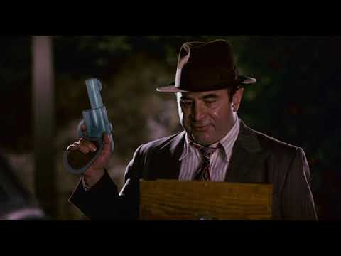 WHO FRAMED ROGER RABBIT (1988): Eddie Pulls Out His Old Gun (Toon Revolver)