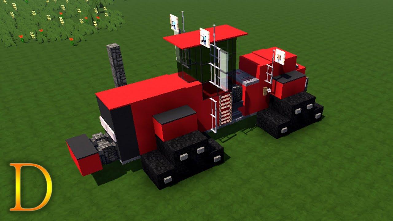 Minecraft Traktor