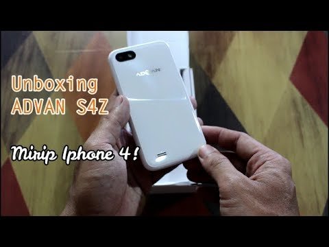 UNBOXING ADVAN S4Z, Gak Usah Beli Iphone 4!