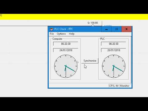 PLC | CX Programmer RTC (Real Time Clock) Using DATE Instruction To Control Weekdays Output