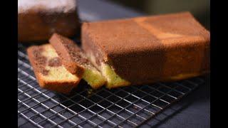 How to make Chocolate &amp Vanilla Marble cake