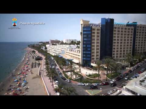 Turismo Roquetas de Mar - Vista aérea de las playas