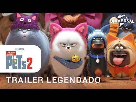 Pets: A Vida Secreta dos Bichos 2 • Trailer Legendado