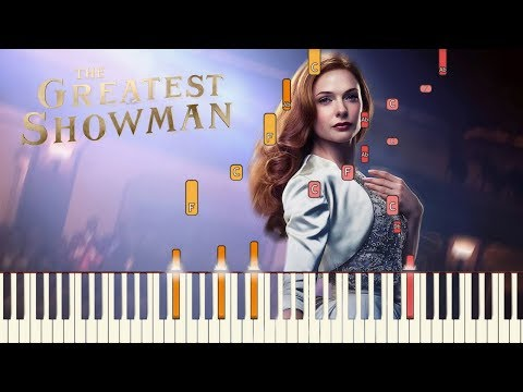 "The Greatest Showman - ""Never Enough"" [Piano Tutorial] (Synthesia)"