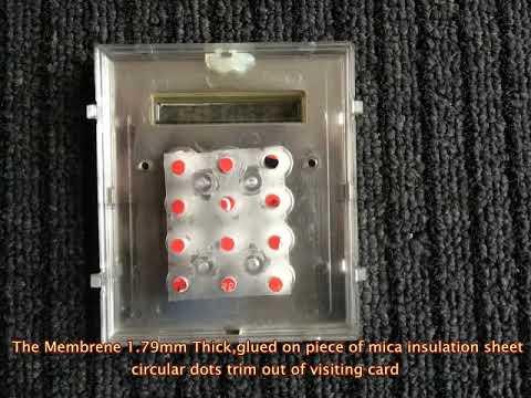 Videx 4800 Door Entry System Keypad Button Fix Youtube
