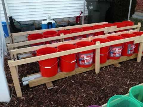 Self Watering Rain Gutter Grow System In Hershey