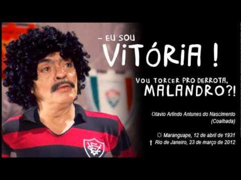 912a4be23aeb0 Chico anysio canta hino do Esporte Clube Vitória (Homenagem ao mestre)