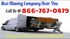 Best Moving Company Near Me - Professional Movers Near Me