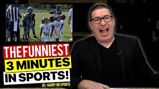 The funniest 3 minutes in sports is back. BS - Barry On Sports is your weekly dose of funny sports!