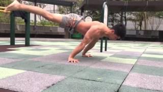 KENGURU PRO 街頭健身世界盃 2016 年申請參賽台灣高雄站:參賽選手 黎啟捷