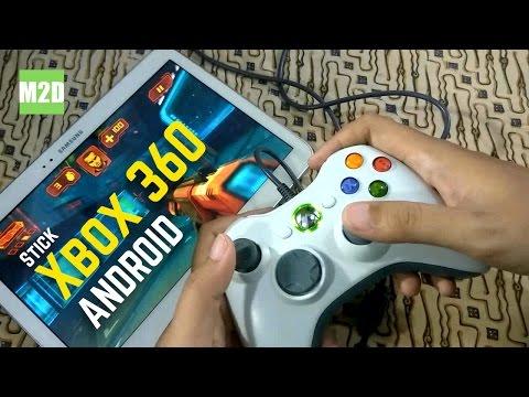 Cara Menghubungkan Stick Xbox 360 Ke Android [USB OTG+ROOT]