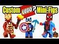 Minecraft LEGO Custom Minifigures 2017