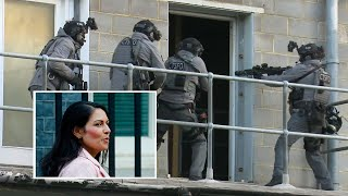 Home secretary Priti Patel oversees dynamic counter-terrorism training as new measures are announced