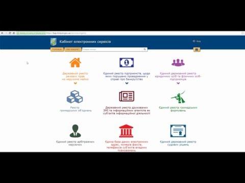 Відеоінструкція: Державний реєстр речових прав на нерухоме майно