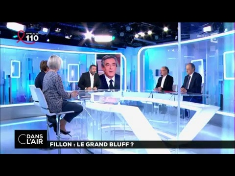 Fillon : le grand bluff  ? #cdanslair 24-03-2017
