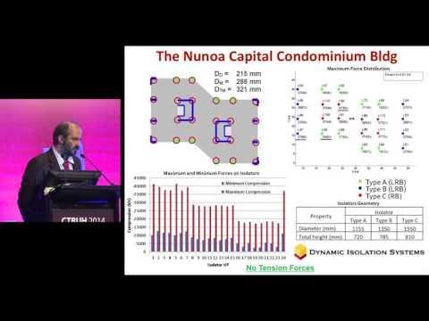 "CTBUH 2014 Shanghai Conference - Mario Lafontaine, ""Seismic Base Isolation"""
