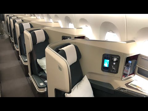Flight Report HKG-IAD Cathay Pacific Business Class A350-1000 (Hong Kong to Washington DC)