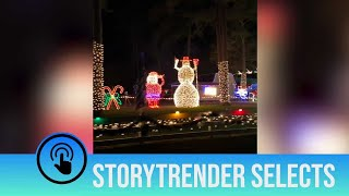 Check out this amazing Christmas display