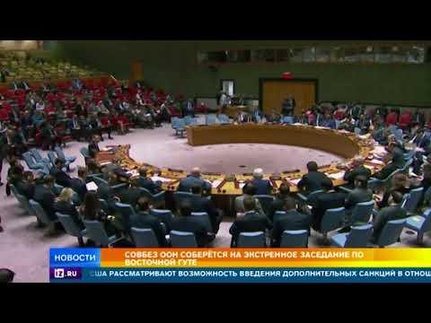 Россия призвала Совбез ООН на экстренное заседание по Восточной Гуте