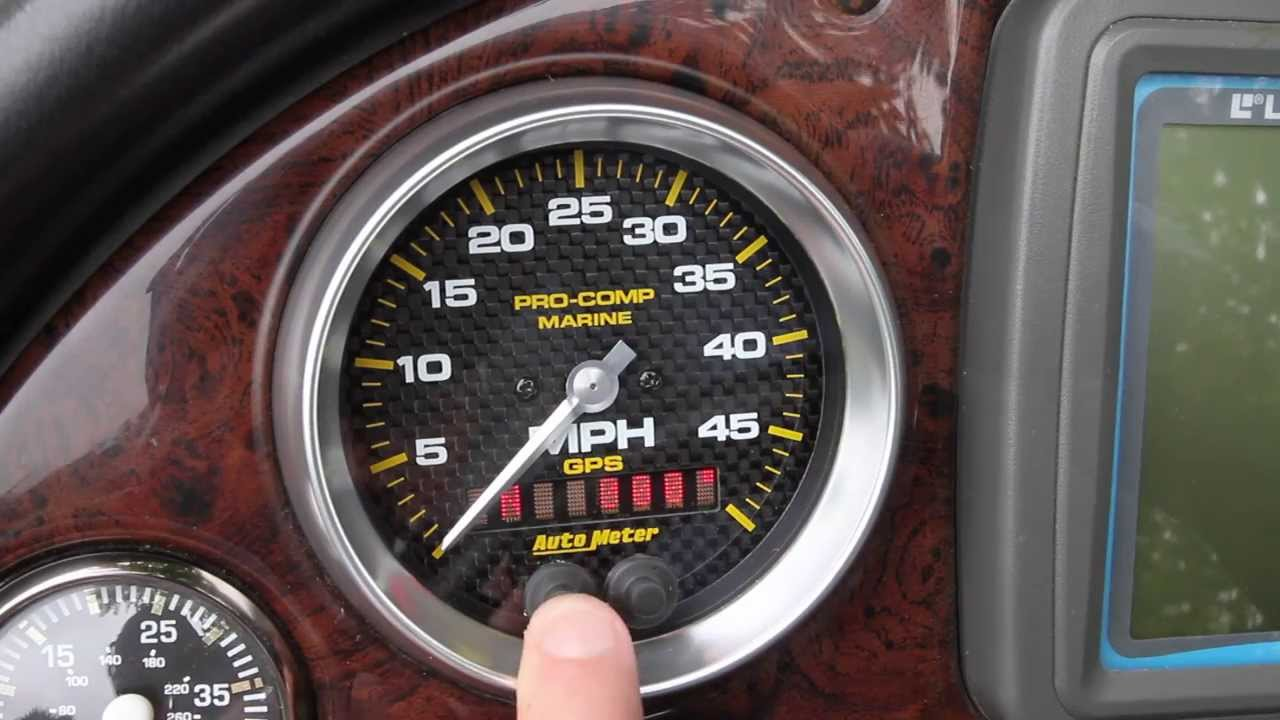Marine Tachometer Wiring Diagram Health Triangle Template Auto Meter Gps Speedometer Installation And Usage - Youtube