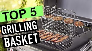 BEST 5: Grilling Basket 2018 Reviews