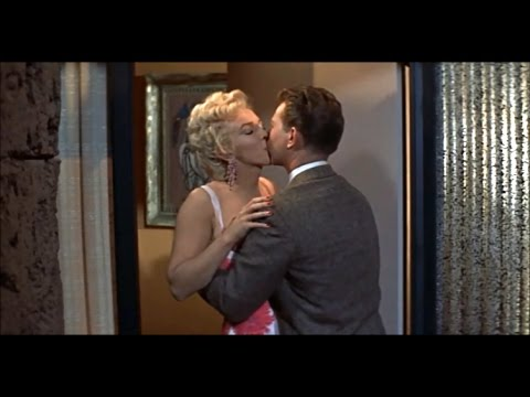 Donald O'Connor Almost Knocked Out By Marilyn Monroe's Coconut Kiss - No Business Like Show Business