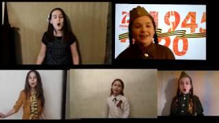 """Театр песни """"Овация"""" младшая группа """"Катюша"""""""