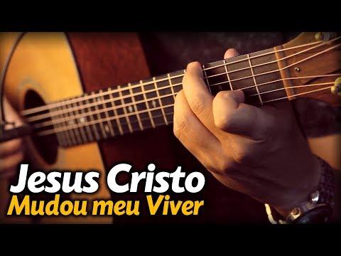JESUS CRISTO MUDOU MEU VIVER no VIOLÃO FINGERSTYLE