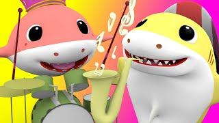 Baby Shark with - The more we get together - Nursery Rhymes Songs for Children