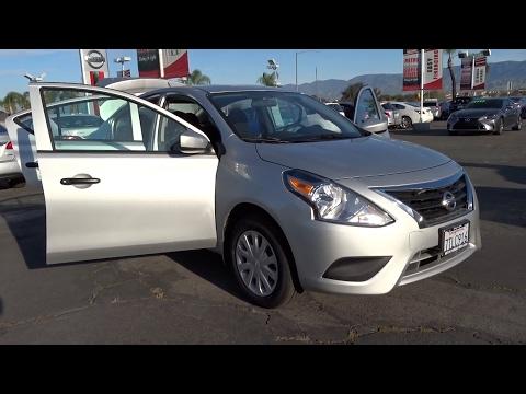 2017 Nissan Versa Sedan San Bernardino, Fontana, Riverside, Palm Springs, Inland Empire, CA 35527R