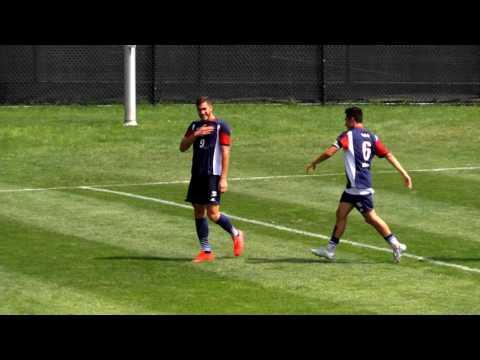 RMU vs Cleveland State - Men's Soccer Highlights