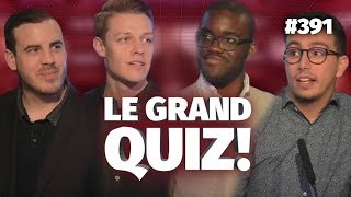 Le Grand Quiz avec Samy, Hugo, Najim et Elton ! #391 - #CD5