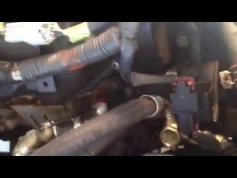 How to replace power steering belt and smog pump belt on a 2000 Nissan  Frontier part 3