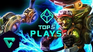 Top 5 Plays : Heroes of the Storm (Gameplay) - Ep. 9 /w MFPallytime