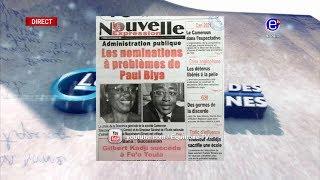 LA REVUE DES GRANDES UNES DU LUNDI 17 DÉCEMBRE 2018 - ÉQUINOXE TV