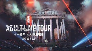 盧廣仲 11週年 大人中演唱會 LIVE BD / DVD 正式發行 CF