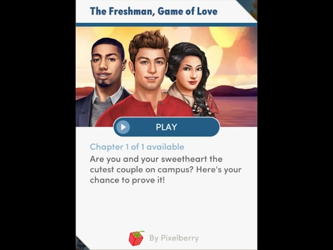 Choices: Stories You Play - The Freshman Game of Love Chapter 1