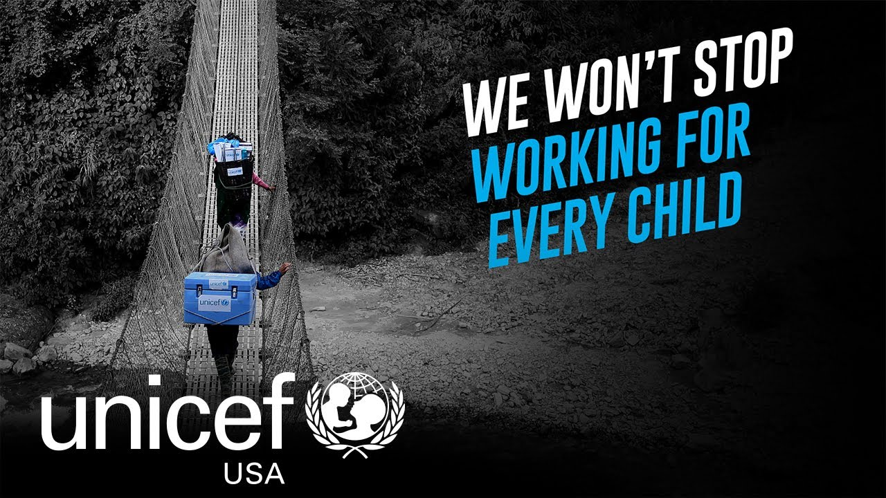 UNICEF USA: We Won't Stop