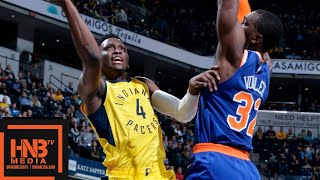 New York Knicks vs Indiana Pacers Full Game Highlights | 12.16.2018, NBA Season