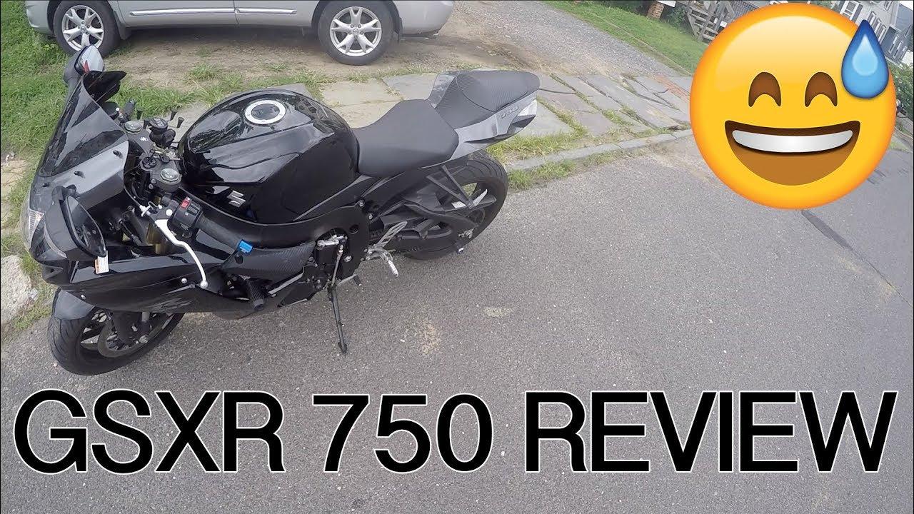 GSXR 750 REVIEW / BROCKS PERFORMANCE EXHAUST