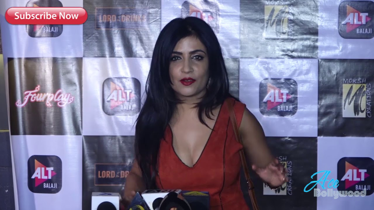 Hot Shibani Kashyap At Pre Launch Of The Balajis Next Web Show Four Play