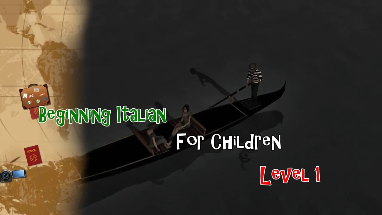 Beginning Italian for Children Level 1