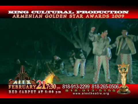 Armenian Golden Star Awards 2009,Ruben Sasuntsi , Aghasi Ispiryan Ergri Kanch