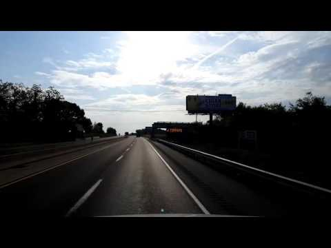 Bigrigtravels Live! Frystown,  PA to the Allentown Travel Plaza Turnpike 476 - May 24, 2016