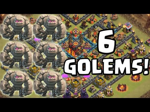 6 GOLEMS IM CLAN WAR! || CLASH OF CLANS || Let's Play CoC [Deutsch/German HD]